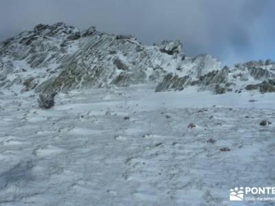 El Porrejón y Peña La Cabra; nieve en madrid; rutas de senderismo;madrid alrededores excursiones